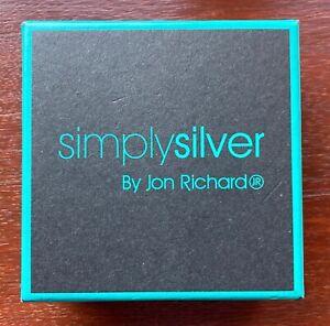 Simply Silver by Jon Richard - Silver Necklace with Swarovski Crystal Pendant