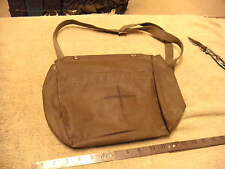 Post WW2 German Rubberized Gas Mask  Bag that was used to hold First Aid Stuff!