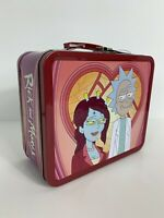 Rick and Morty [adult swim] Loungefly Metal Lunch Box Target Exclusive NEW