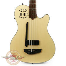 Brand New Godin A4 Ultra Natural SA Acoustic Electric Bass Guitar B Stock