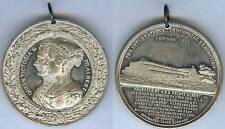 Médaille de table - LONDON 1851 Queen Victoria & PR Albert industrial exhibition