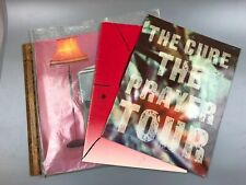 1979 The Cure Three Imaginary Boys vinyl Lp W. Germany Import 2 Concert Programs
