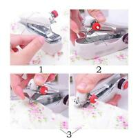 Portable Mini Sewing Machine Handheld Stitch Clothes Home Cordless-Household New