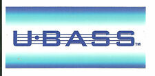 U Bass Sticker / Decal