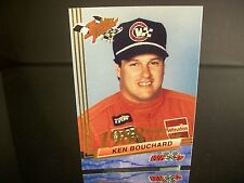 Rare Ken Bouchard Wheels Rookie Thunder Rookie Of The Year 1988 Card #29