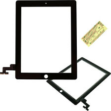 Digitizer NERO DI RICAMBIO PER APPLE IPAD 2 2nd Touch screen pannello di vetro anteriore