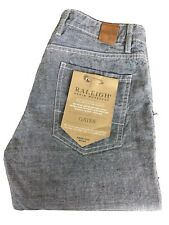 BNWT Raleigh Denim Workshop Gates Womens Boyfriend Midrise Low-slung Jeans 28
