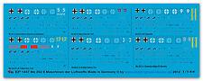 Peddinghaus  1/144 1457 Me 262 6 Maschinen