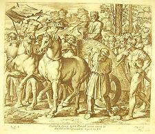 David: triomphe sur les Assyriens La Bible Nicolas Chaperon 1649 ap Raphaël