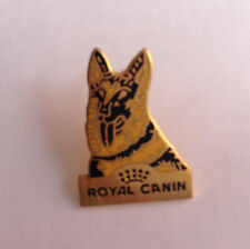 Pin's pin ROYAL CANIN - CHIEN BERGER ALLEMAND (ref 048)