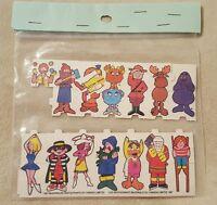 Vintage 1987 McDonalds Restaurants of Canada paper dolls set