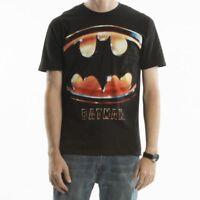 Batman Oversized Logo Men's Black T-Shirt