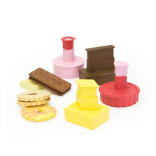 Dexam Classic British Biscuit Cutters Set of 4 Plunger Stamp Cookie Pastry New