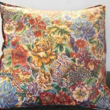 EXTRA LARGE GIANT CUSHION GOLD,GREEN ,BLUE AND RUST