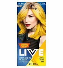 Schwarzkopf LIVE Semi Permanent Hair Colour Citrus Neons - Lemon Twist 107