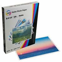 LD Heavy Coated Matte Inkjet Paper 8.5 X 11 100 pack High Resolution
