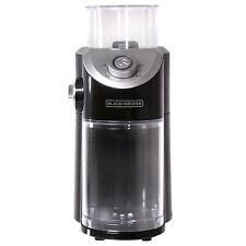 BLACK & DECKER COFFEE BURR GRINDER CBM310BD 8 GRIND SETTINGS ESPRESSO TESTED!