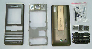 Brown Housing fascia facia cover case faceplate for Sony Ericsson K770 Brown
