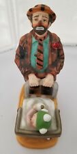 Emmett Kelly Circus Collection Ek-639 Parenthood Limited Edition Figurine