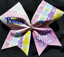 Cheer Bow - All My Peeps Wear Cheer Bows - Glitter - Hair Bows