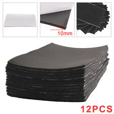 12Pcs Car Sound Proofing Deadening Van Boat Insulation Cell Foam Thick 10mm