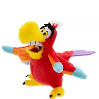 "BNWT Shop Disney Store Soft Plush 10"" Tall IAGO Parrot Bird Jafar Aladdin"