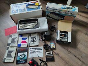 Commodore Plus/4 Computer Lernkurs Datasette Basic Kurs Netzteil OVPPapiere