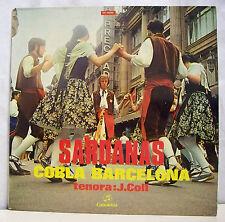 "33 tours SARDANAS Sardane Disque LP 12"" COBLA BARCELONA J. COLL- COLUMBIA 15086"