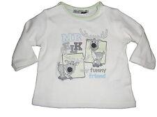 NEU Ergee tolles Langarm Shirt Gr. 50 creme mit niedlichen Elch Motiven !!