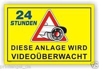 Schild,Anlage,videoüberwachung,videoüberwacht,video,Hinweisschild Kamera Vi57
