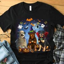 Pisces - Rottweiler Halloween Short Sleeve T-Shirt