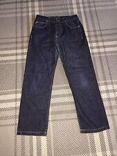 Men's Yves Saint Laurent YSL Dark Blue Straight Leg Jeans W32 L30