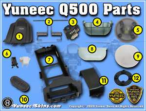 Yuneec Q500 - Q500-Plus - Q500 4K - Q500 Typhoon Hard to Find Parts