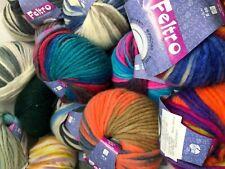 LANA GROSSA FELTRO STOCK Virgin Wool Yarn For HandKnitting Machine Crafts
