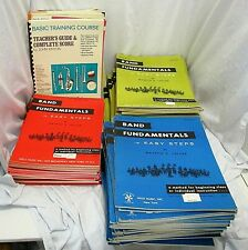 Band Fundamentals in Easy Steps & Others Huge Lot 140+ Books List in Description