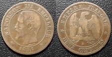 Napoléon III - 2 centimes tête nue 1856 B, Rouen - F.107/39
