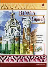 ITALIA: 2008 FOLDER ROMA CAPITALE COMPLETO E PERFETTO (SOTTOCOSTO) FACCIALE € 13
