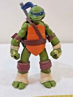 TMNT Leonardo Battle Shell Ninja Turtle Action Figure Viacom 2012 ~ Ships FREE
