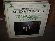 CORBOZ / CHARPENTIER david & jonathas ( classical ) 3lp box erato