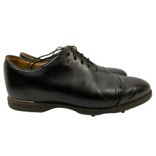 Footjoy Icon Black Golf Shoes Black  - 52043 10M