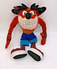 "Crash Bandicoot 2001 Nintendo 13"" Plush, Kellytoys, Nintendo 64"