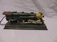"Telemania Locomotive Train Telephone landline #1396 Green color 13"" x 5"" x 4"""