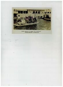 Franco British Exhibition Swan Boats London Alexander Postcard 1908 Unposted
