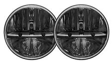 "Truck-Lite Rigid 55004 Pair 7"" Round HEATED Lens LED Headlights w/PWM Adapter"