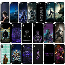 Black Panther wakanda forever Case for iPhone 11 Pro XR X XS Max 8 7 6s Plus SE