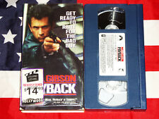 Payback (VHS, 1999) Mel Gibson, Gregg Henry, Rare Blue Video Tape!