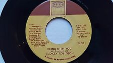 SMOKEY ROBINSON - Being With You / What's in Your Life for Me 1981 SOUL Tamla 7""
