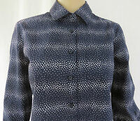 "ladies Tommy Hilfiger Shirt/Blouse,.Office-Casual  R.R.P £59.50 ""Navy/White spot"