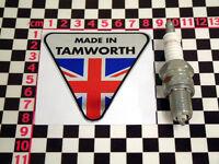 Made in Tamworth Chrome Sticker - Reliant Robin Fox Scimitar Sabre Rebel Kitten