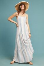 NWT $198.00 Anthropologie Splendid Brunch Striped Maxi Dress Sz. X-Large